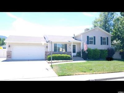 Spanish Fork Single Family Home For Sale: 1534 E 410 S