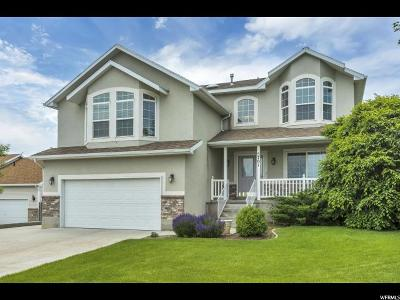 Herriman Single Family Home Under Contract: 5701 W Hitching Post Ct S