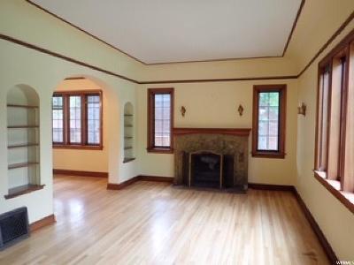 Salt Lake City Single Family Home For Sale: 1632 E Princeton Ave S