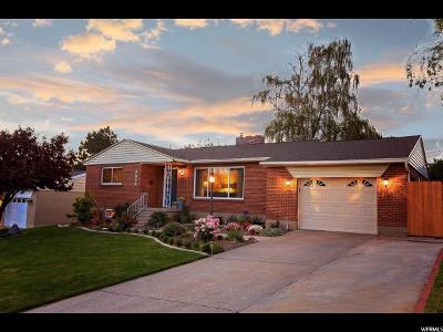 Holladay Single Family Home Under Contract: 3035 E La Joya Dr