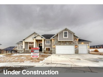 Lehi Single Family Home For Sale: 1044 W 3270 N #7