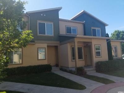 South Jordan Townhouse For Sale: 3721 Lilac Heights Dr