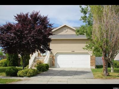Salt Lake City Single Family Home For Sale: 1866 W Roundup Cir N