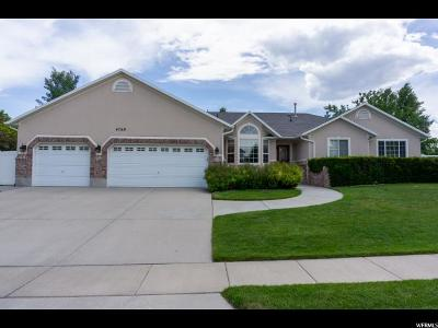 South Jordan Single Family Home For Sale: 4769 Sunny Meadow Dr