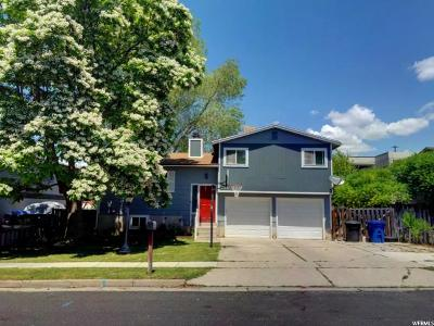 Logan Single Family Home Under Contract: 495 E 1200 N