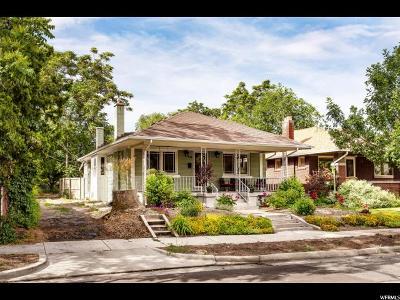 Salt Lake City Single Family Home For Sale: 770 E Ramona Ave