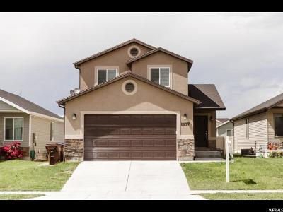 Eagle Mountain Single Family Home For Sale: 1657 E Slow Water Way
