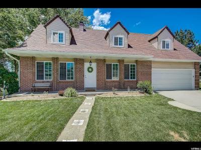 Sandy Single Family Home For Sale: 12134 S Spring Ridge Cir