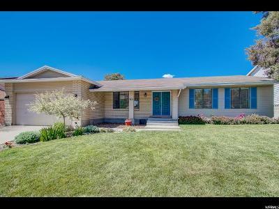 Sandy Single Family Home Under Contract: 1787 E Glider Ln