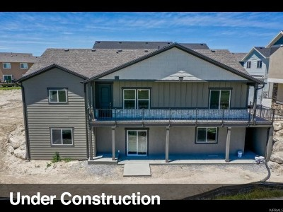 Eagle Mountain Single Family Home For Sale: 8641 N Cottonwood Alley E #B13