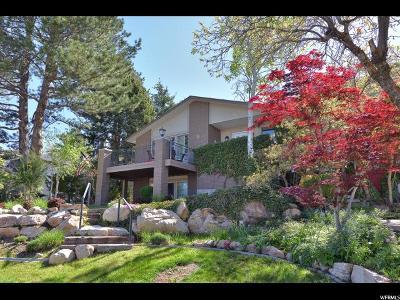 Salt Lake City Single Family Home For Sale: 4733 S Mile High Dr