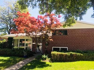 Salt Lake City Single Family Home Under Contract: 1320 N Carousel W