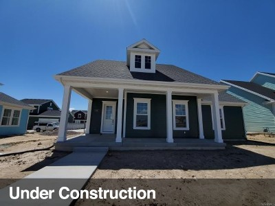 South Jordan Single Family Home Under Contract: 5193 W Split Rock Dr #793
