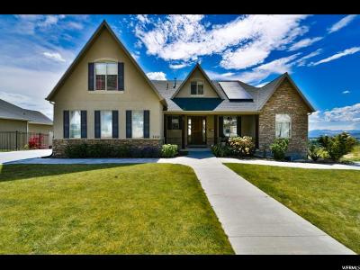 Cedar Hills Single Family Home Backup: 9551 N Canyon Heights Dr