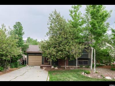 Park City Single Family Home Under Contract: 5833 N Kingsford Ave