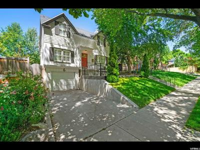 Salt Lake City Single Family Home For Sale: 990 S 1700 E