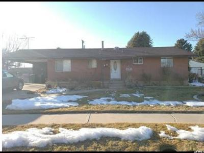 Single Family Home For Sale: 4293 S 2325 W