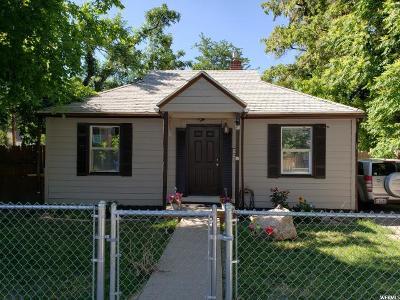 Salt Lake City Single Family Home For Sale: 126 E Sunset Ave S