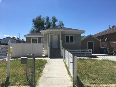 Salt Lake City Single Family Home For Sale: 665 N Grant St