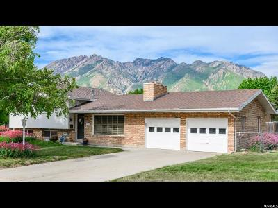 Cottonwood Heights Single Family Home Under Contract: 7411 S Viscayne Dr