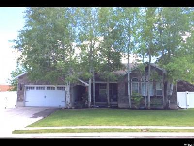 Riverton Single Family Home Under Contract: 2401 W Larissa Ln S