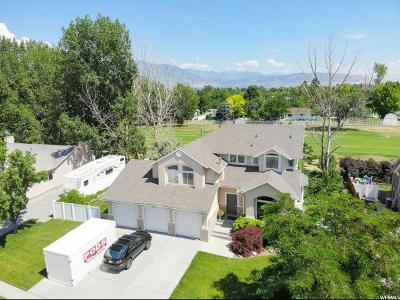 South Jordan Single Family Home For Sale: 9917 S Tee Box Dr. W