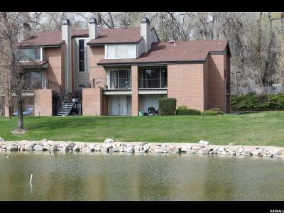 Salt Lake City Condo For Sale: 1231 E Brickyard Rd #503