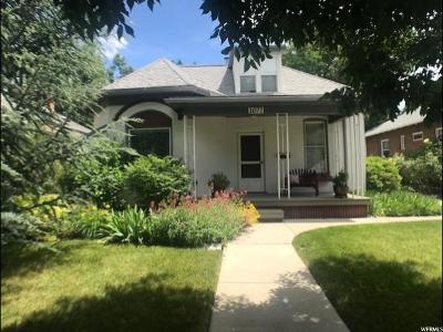 Salt Lake City Single Family Home For Sale: 1071 S 900 E
