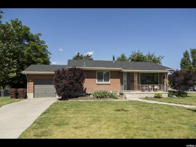 Midvale Single Family Home Backup: 7794 S Olympus Cir W