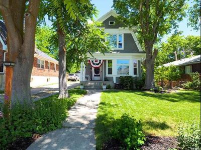 Salt Lake City Single Family Home For Sale: 1917 S 1500 E
