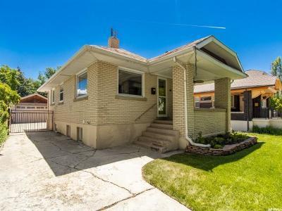 Salt Lake City Single Family Home For Sale: 959 S 300 E