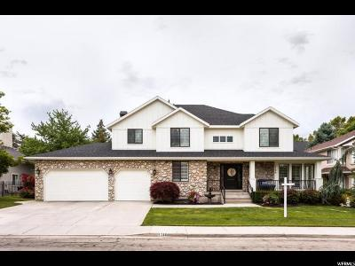 Salt Lake City Single Family Home For Sale: 1788 E Carriage Park Cir S