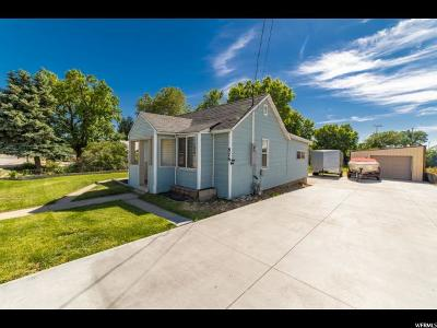 Clearfield Single Family Home Under Contract: 876 S 1000 E