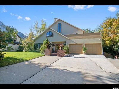 Salt Lake City Single Family Home For Sale: 3700 E Ceres Dr