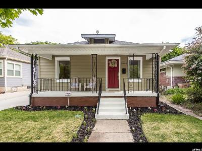 Salt Lake City Single Family Home For Sale: 1046 E Emerson Ave S