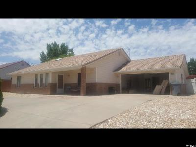 St. George Single Family Home For Sale: 2435 E 350 N