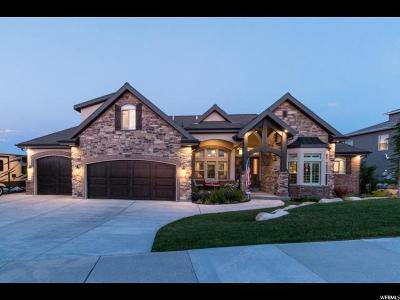 Herriman Single Family Home Under Contract: 14897 Aurora Vista Cir