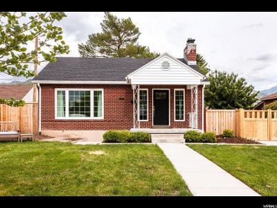 Salt Lake City Single Family Home Under Contract: 2115 S Preston St E
