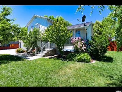 Salt Lake City Single Family Home For Sale: 6032 S 4520 W
