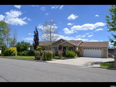 Riverton Single Family Home Backup: 14087 S Ben Lomond Peak Dr W