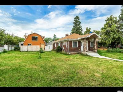 Salt Lake City Single Family Home For Sale: 1724 E 2700 S