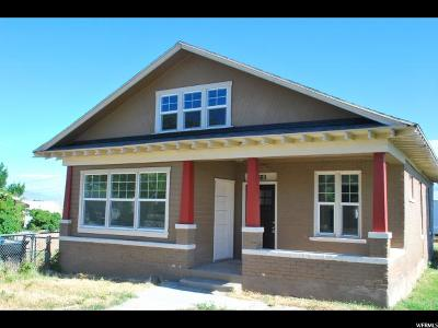 Single Family Home Under Contract: 889 E Center St