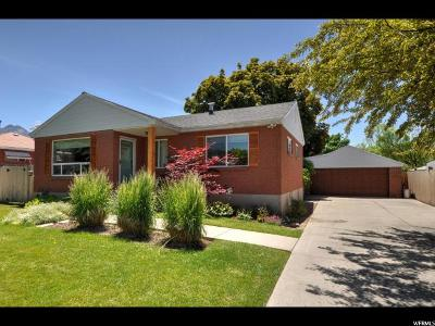 Salt Lake City Single Family Home For Sale: 1030 E Fairclough Dr