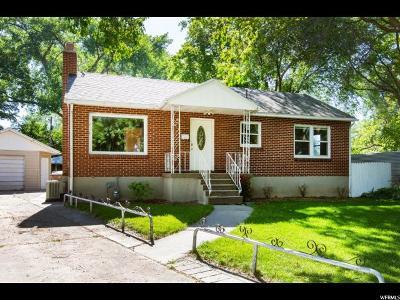 Salt Lake City Single Family Home Under Contract: 1375 S Utahna Dr
