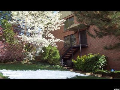 Salt Lake City Townhouse For Sale: 1718 S Oak Springs Dr
