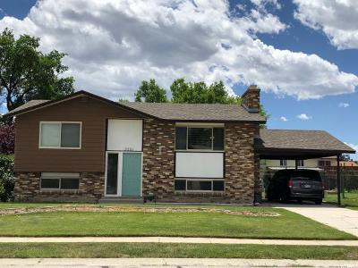 West Jordan Single Family Home For Sale: 3851 W Lewisport Dr