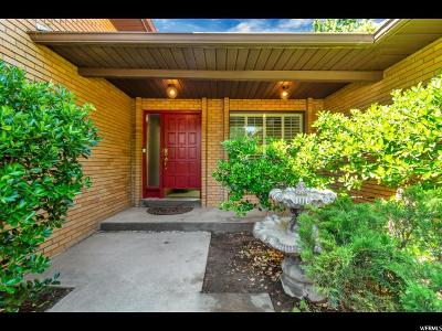 Sandy Single Family Home For Sale: 1750 E Janella Way S
