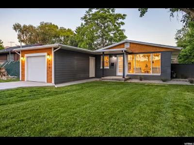 Salt Lake City Single Family Home For Sale: 730 E Lisonbee Dr