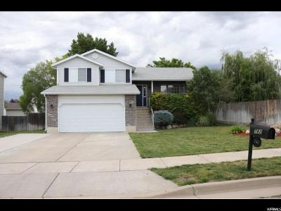 Clinton Single Family Home Under Contract: 782 W 1960 N