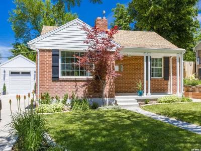 Salt Lake City Single Family Home For Sale: 2533 E Elm Ave S